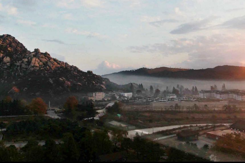 Mt Kumgang, located on North Korea's eastern shore just beyond the heavily fortified border separating the two Koreas, is one of two major inter-Korean economic initiatives, along with the Kaesong factory park.