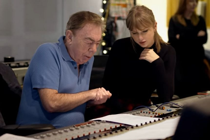 American singer-songwriter Taylor Swift and British composer Andrew Lloyd Webber have written a new song called Beautiful Ghosts.