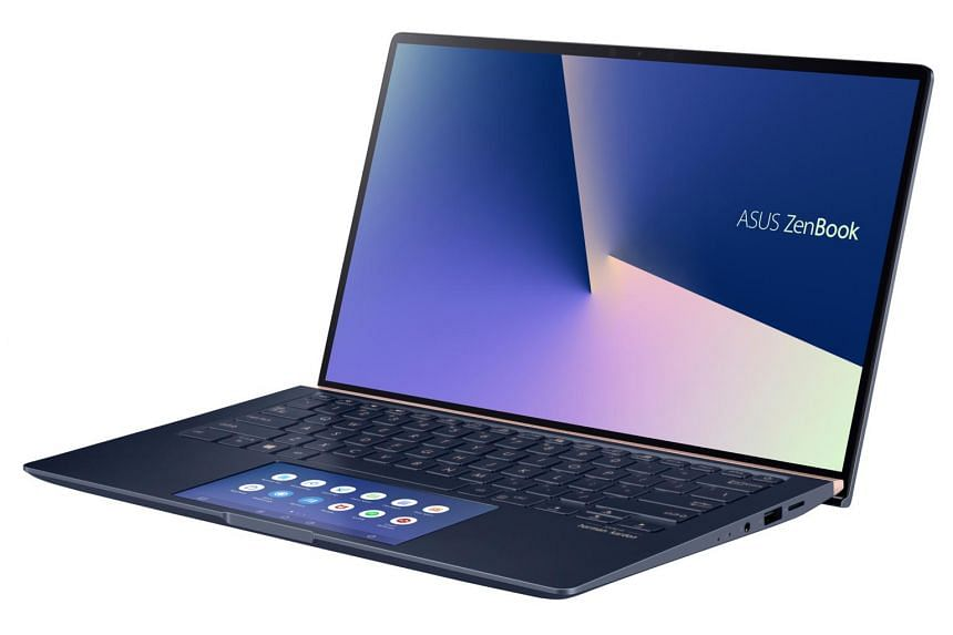 Asus ZenBook 14's keyboard offers decent key travel and does not feel as shallow as some thinner ultrabooks.