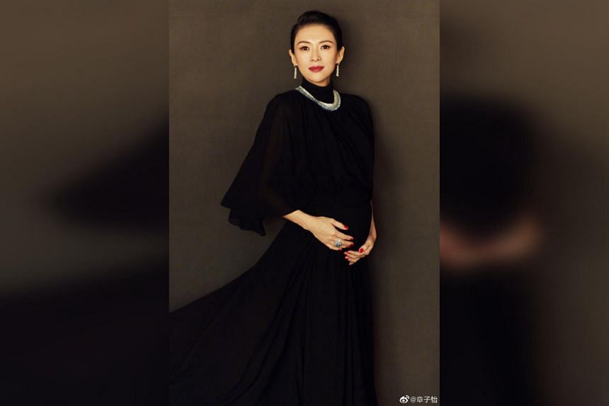 Chinese actress Zhang Ziyi said that she is currently in her 30th week of pregnancy and weighs 58kg, adding that her weight is still increasing.