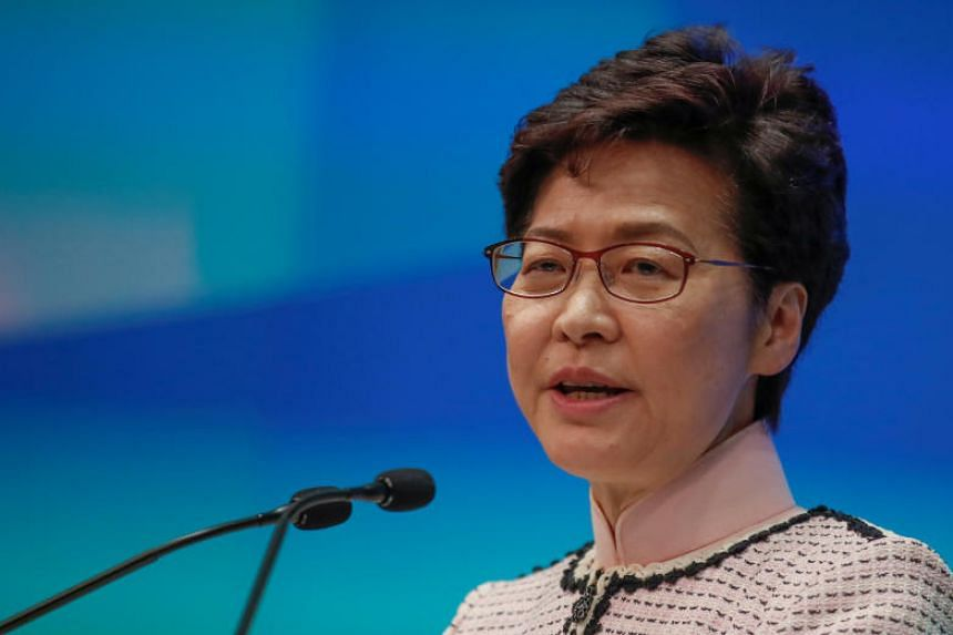 Hong Kong Chief Executive Carrie Lam was speaking two days after Financial Secretary Paul Chan said Hong Kong has fallen into recession and was unlikely to achieve any growth this year.