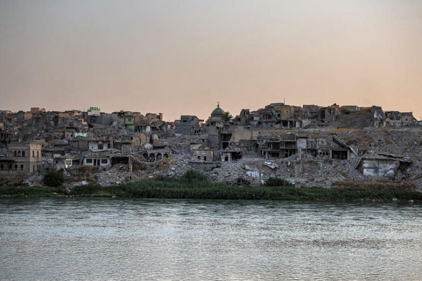 A view of the old town of Mosul, Iraq, which suffered enormously because of the ISIS terrorist group, on Aug 11, 2019.