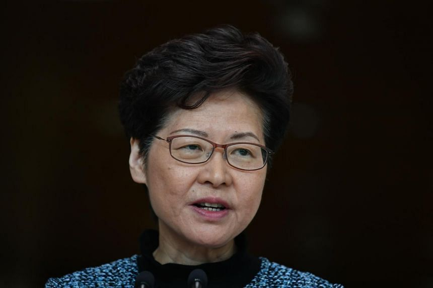 """Hong Kong leader Carrie Lam called the FT report """"very malicious and maybe politically driven speculation"""", citing similar comments last week by China's foreign ministry."""