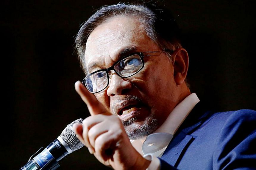 There is danger around Malaysian ruling party leader Anwar Ibrahim and he senses it going by the tone and urgency by which he addresses the issue of the political transition.
