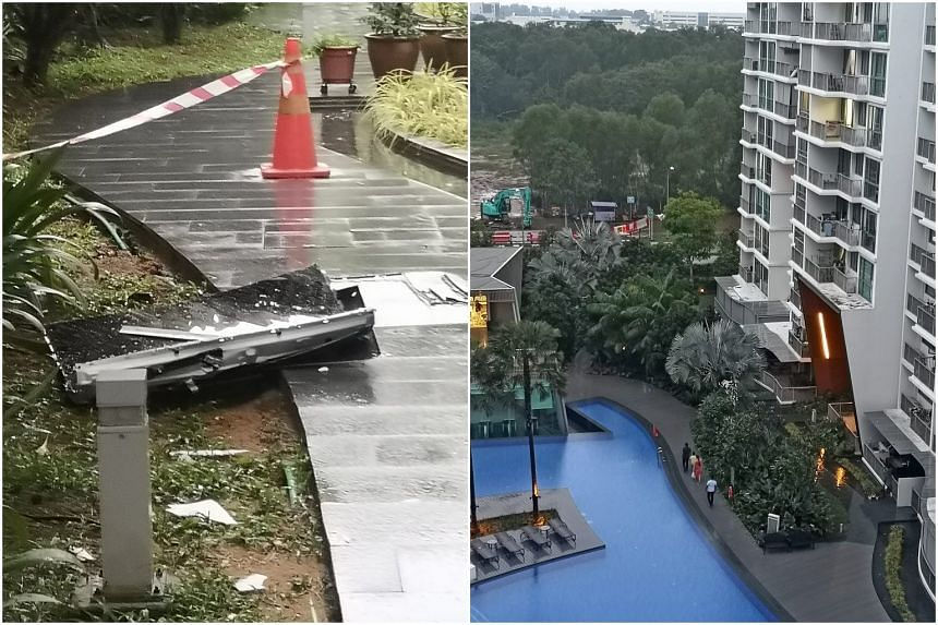 The incident happened at a condominium at 6 Pasir Ris Link at about 3pm on Oct 28, 2019.