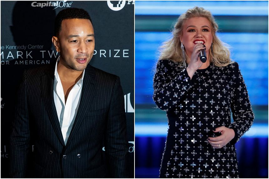 Singer John Legend teamed up with singer Kelly Clarkson to record an updated version of the Christmas song Baby, It's Cold Outside.
