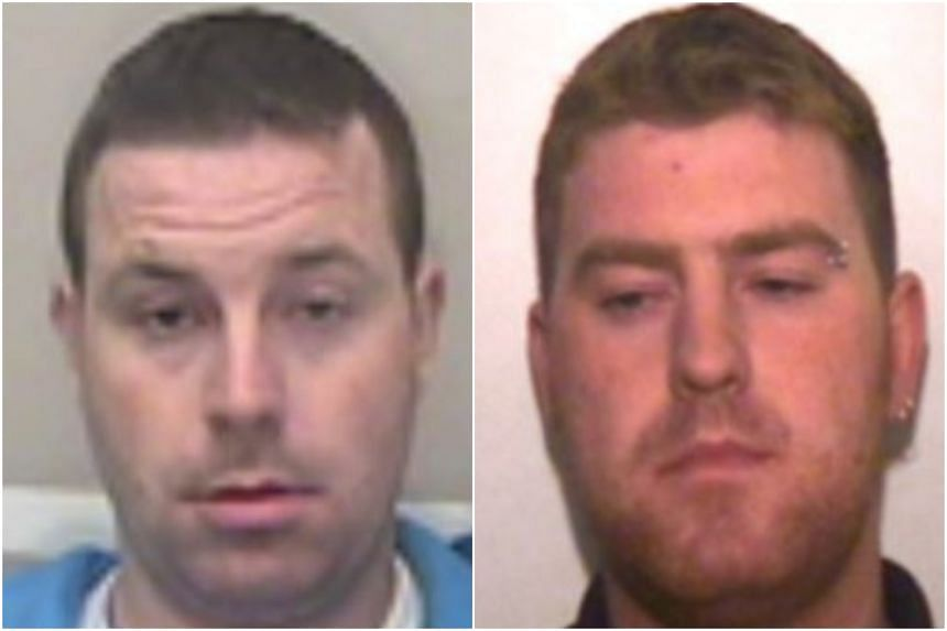 Ronan Hughes, 40, and his brother Christopher, 34, from Armagh are wanted on suspicion of manslaughter and human trafficking, Essex police said.