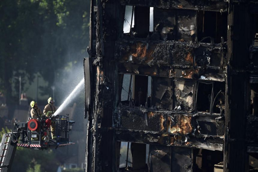 The June 14, 2017, inferno at the 24-storey residential block in west London was Britain's deadliest domestic fire since World War II and prompted widespread outrage.