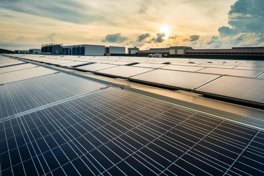 Sembcorp will install, own and operate rooftop solar panels atop Sats Airfreight Terminals 1 to 4, both of Sats' inflight catering centres and its maintenance workshop.