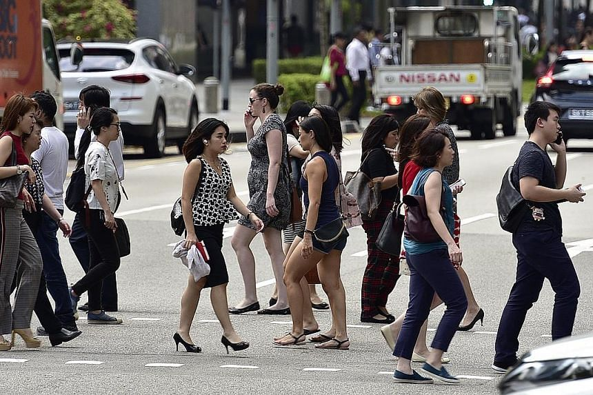 Retrenchments are rising, firms are more cautious raising wages and it is getting harder for those who lose their jobs to find new work. Among 669 hiring managers in Singapore, attitudes towards the employment outlook in the final three months of the