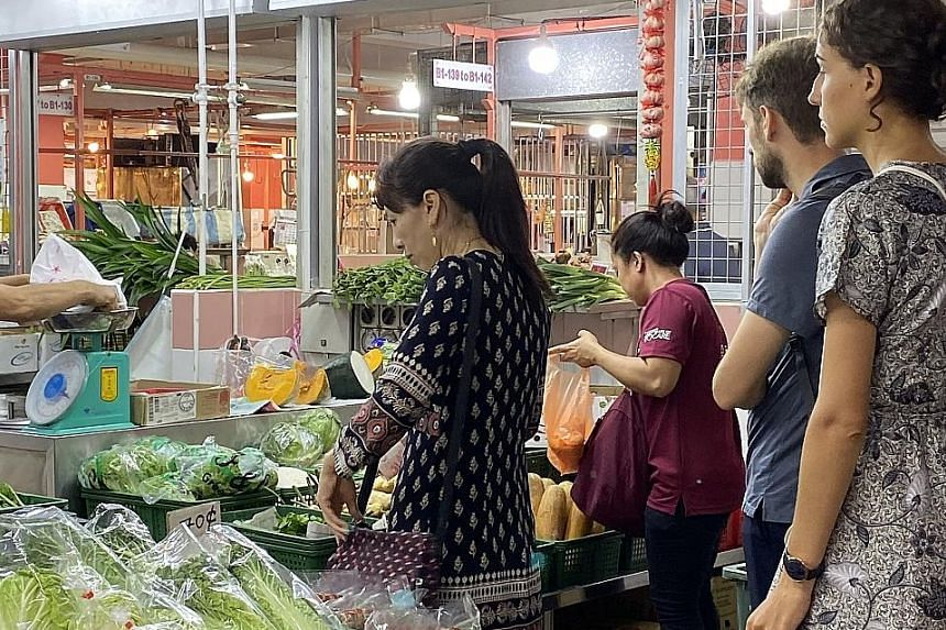 The rise in prices of some vegetables is due to the rainy season arriving a month early in Malaysia, affecting the harvest.