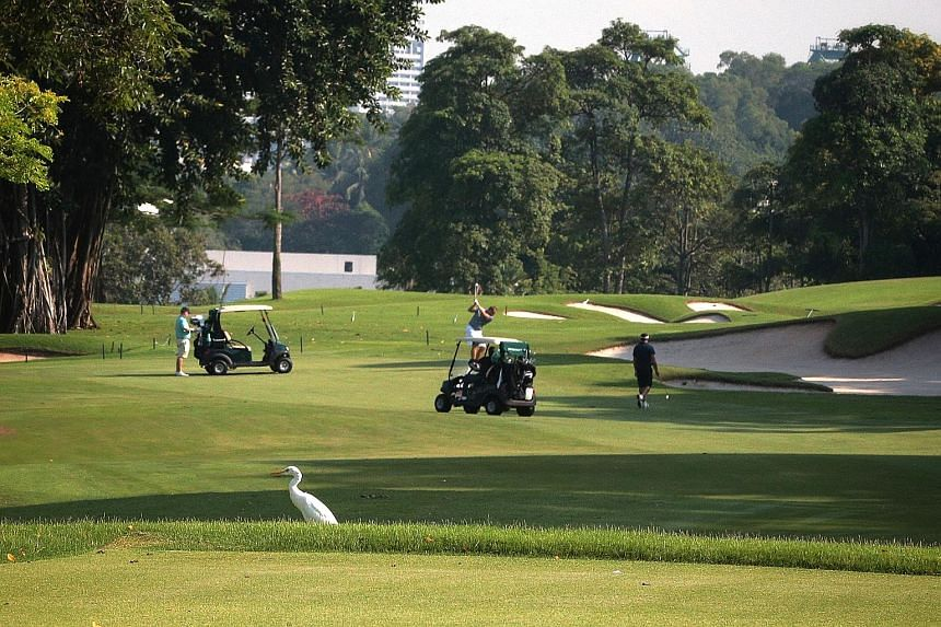 Sentosa Golf Club's Serapong course was named Singapore's best golf course at the World Golf Awards. ST PHOTO: JASON QUAH