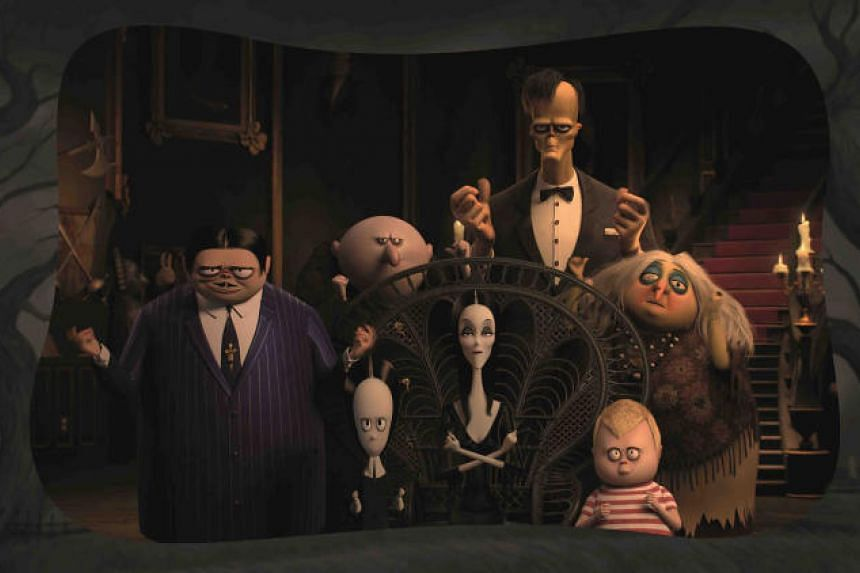 A still image taken from the film The Addams Family.