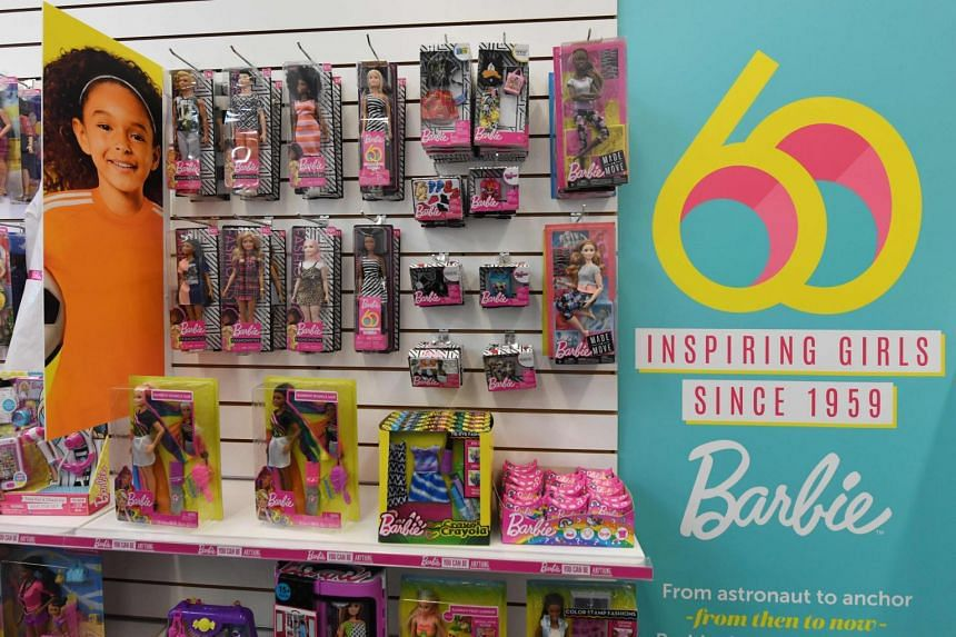 Shares of Mattel surged 20 per cent to US$12.67 in after-hours trading.