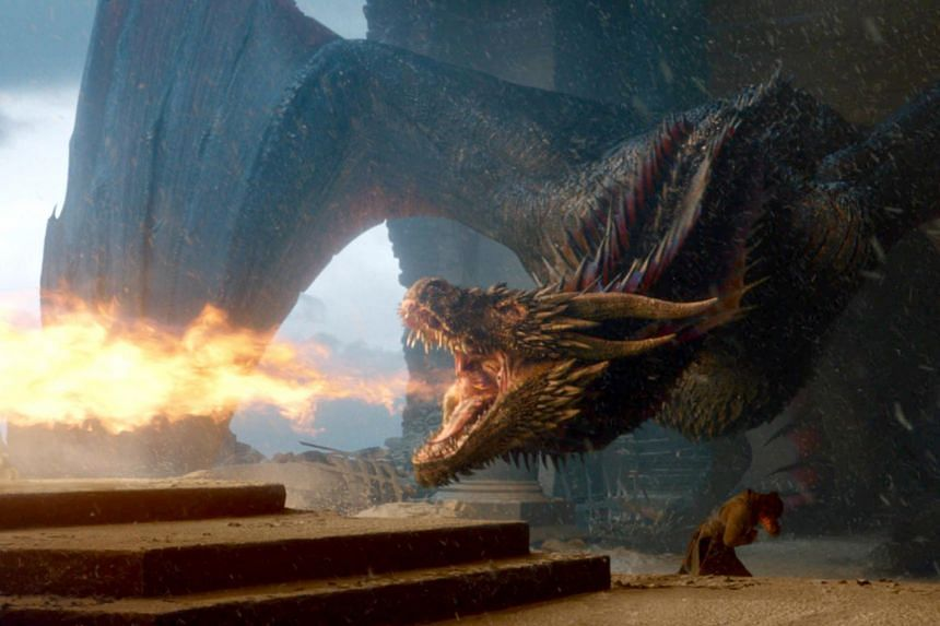 A television still from Game of Thrones. House Of The Dragon will take place 300 years before the events of Game Of Thrones.