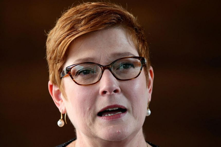 """""""We must respect each other's sovereignty, but we will consistently continue to raise issues such as human rights, including, as I have said, with China,"""" said Australian Foreign Minister Marise Payne."""