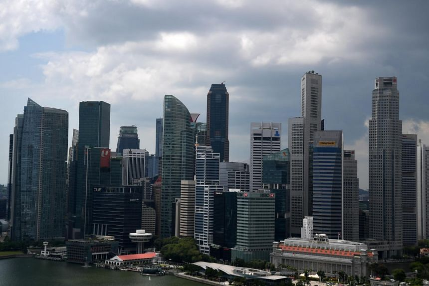 The Singapore skyline pictured on Jan 9, 2019.
