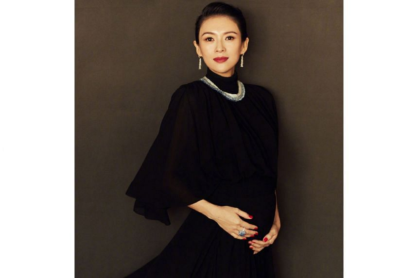 ZHANG ZIYI PREGNANT AGAIN: So the rumours are true after all. Chinese actress Zhang Ziyi, 40, has confirmed on social media that she is pregnant with her second child. In a Weibo post on Monday, she said she is in her 30th week of pregnancy and weigh