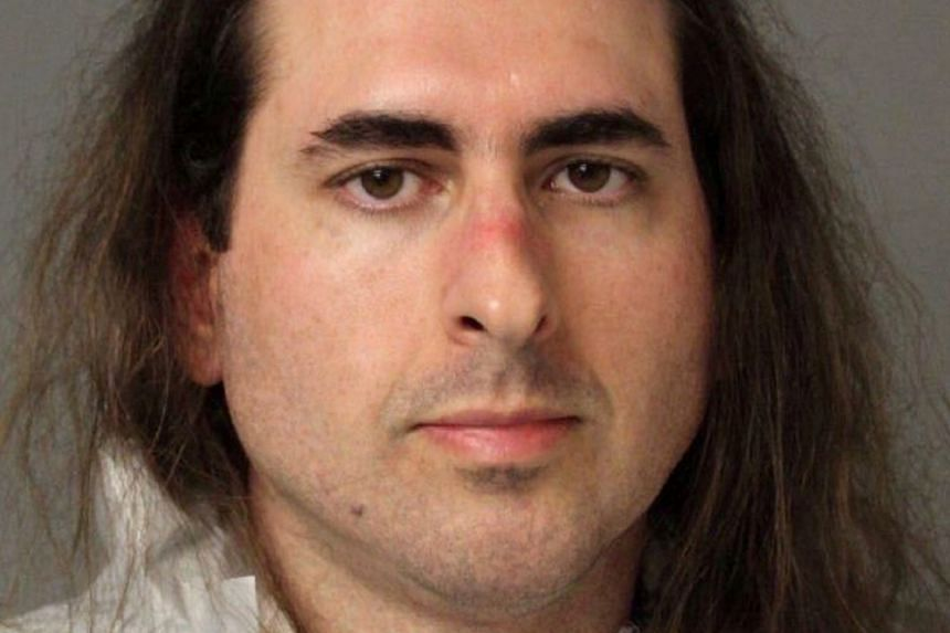 Accused Jarrod Ramos is seen in a police booking photo.