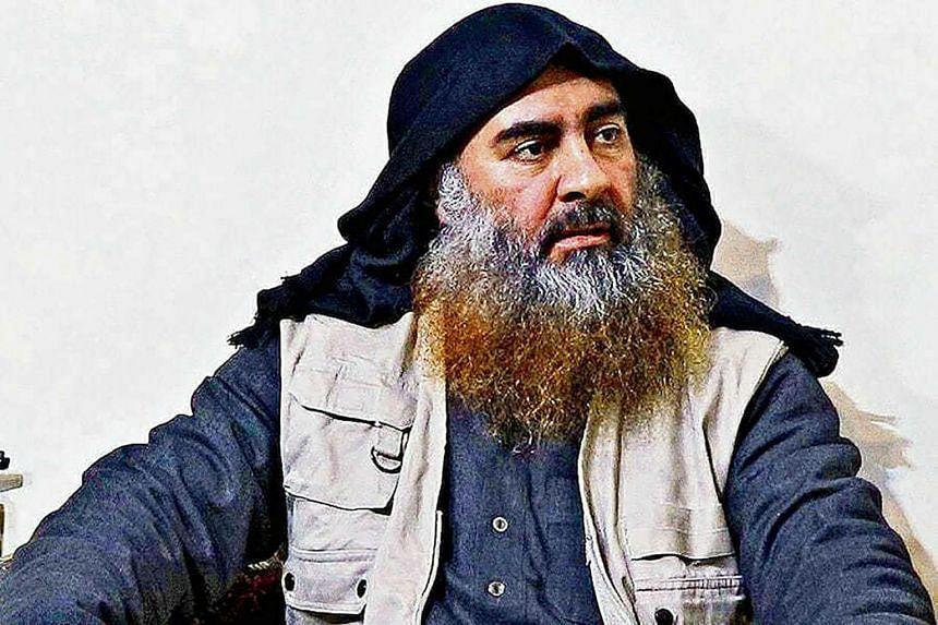 Late Islamic State leader Abu Bakr al-Baghdadi is seen in an undated photo.