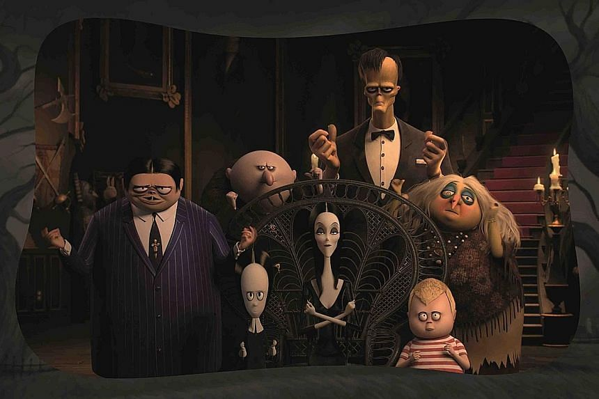 In The Addams Family, the eponymous clan moves into a new home in New Jersey after being shunned elsewhere, but continues to be snubbed.