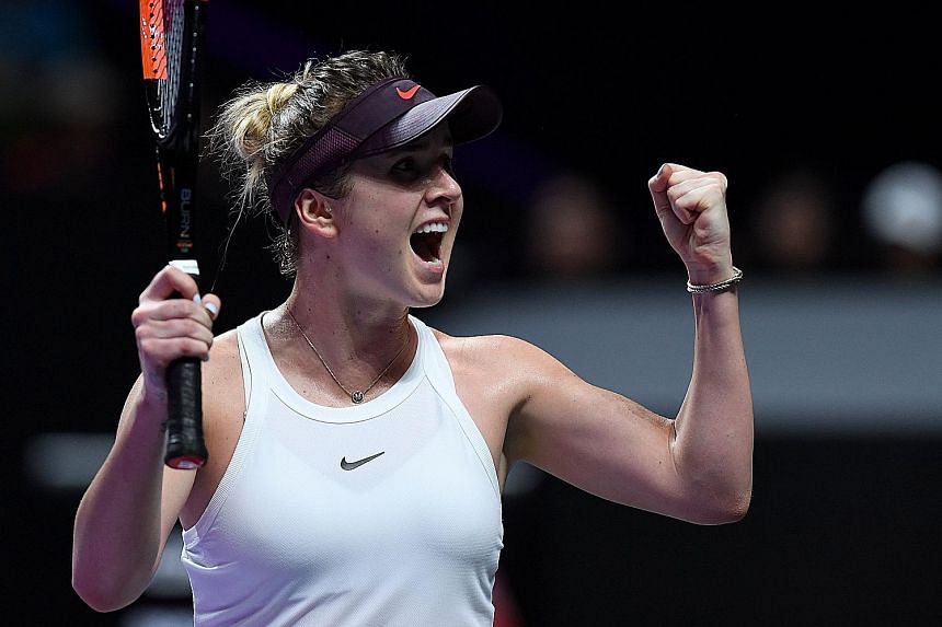 Elina Svitolina's last title was the 2018 WTA Finals held in Singapore. The Ukrainian is the first player through to the semi-finals of this year's edition in Shenzhen.