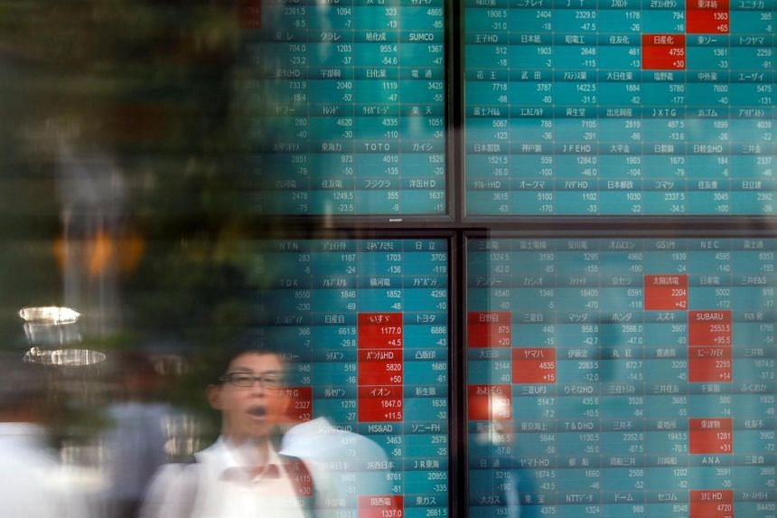 MSCI's broadest index of Asia-Pacific shares outside Japan was up 0.2 per cent.