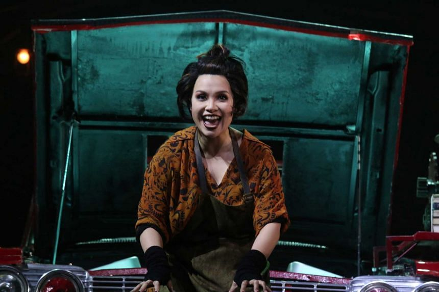 Broadway veteran Lea Salonga plays the role of Mrs Lovett in the musical.