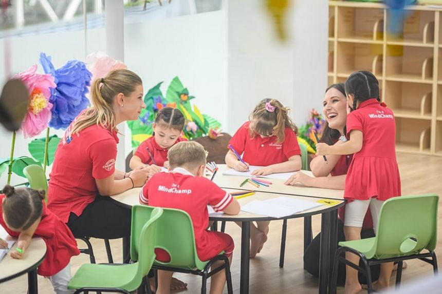 Early learning educators at MindChamps undergo mandatory professional training of up to 200 hours in addition to their required qualifications.