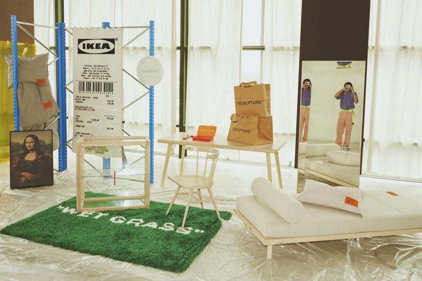 The collection titled Markerad was launched at the Ikea stores in Tampines and Alexandra Road on Oct 31, 2019.
