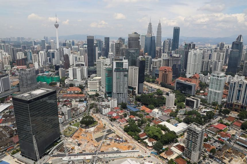 A view of the city skyline in Kuala Lumpur, Malaysia, on Oct 23, 2019.