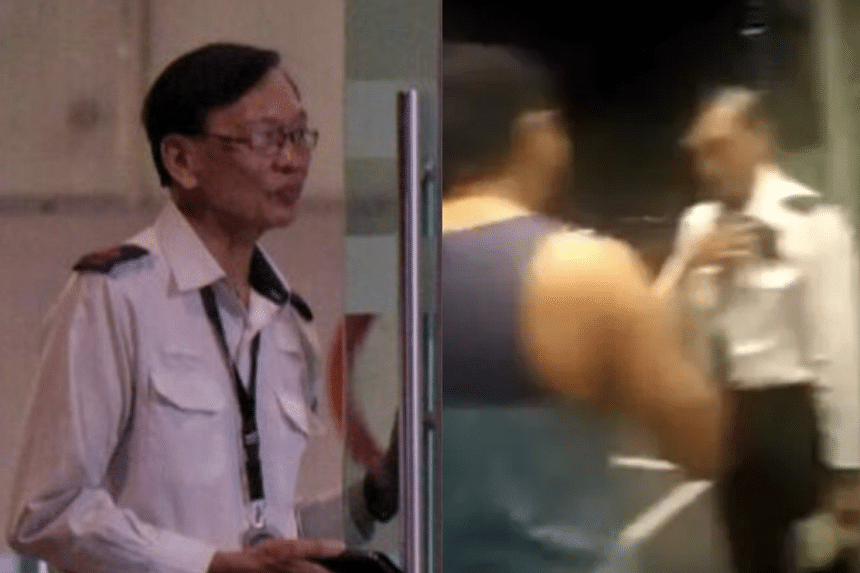 The latest twist in the saga comes after condo resident Erramalli Ramesh reportedly apologised to senior security supervisor Steven Heng (left) during a private, hour-long meeting on Oct 30, 2019.