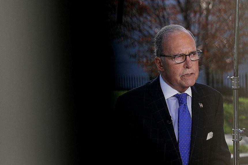 Deals on agriculture, financial services and currency are largely sewn up, said US economic adviser Larry Kudlow.