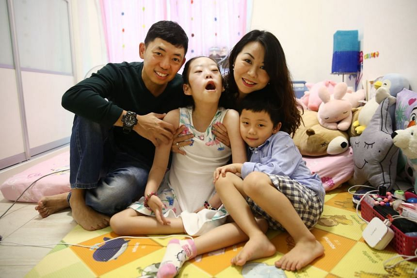Mr Kenneth Mah, whose 10-year-old daughter Chloe has Pompe disease, cheered the move to cover the disease under the Rare Disease Fund.