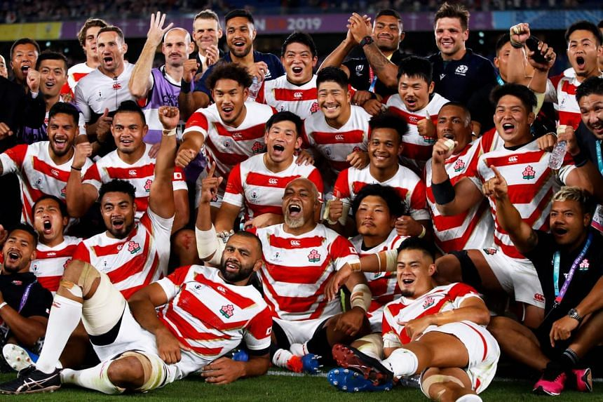 Japan's World Cup success briefly took them to sixth in the world rankings and even led to calls to bring them into the Rugby Championship.