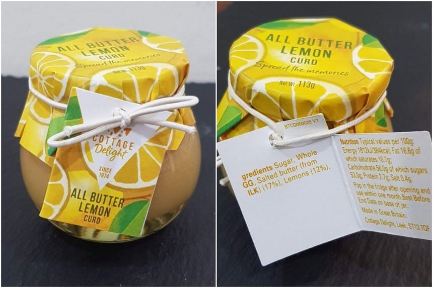 The Food Safety Authority of Ireland (FSAI) has issued a food recall alert on Cottage Delight All Butter Lemon Curd products due to inaccurate milk and egg allergen labelling.