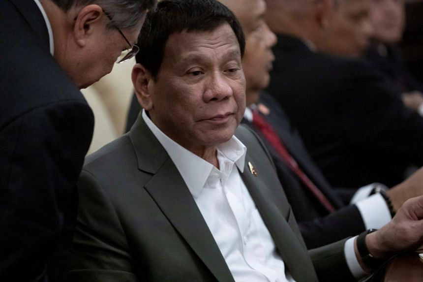 President Rodrigo Duterte had been backed by leftist groups in the 2016 national elections.