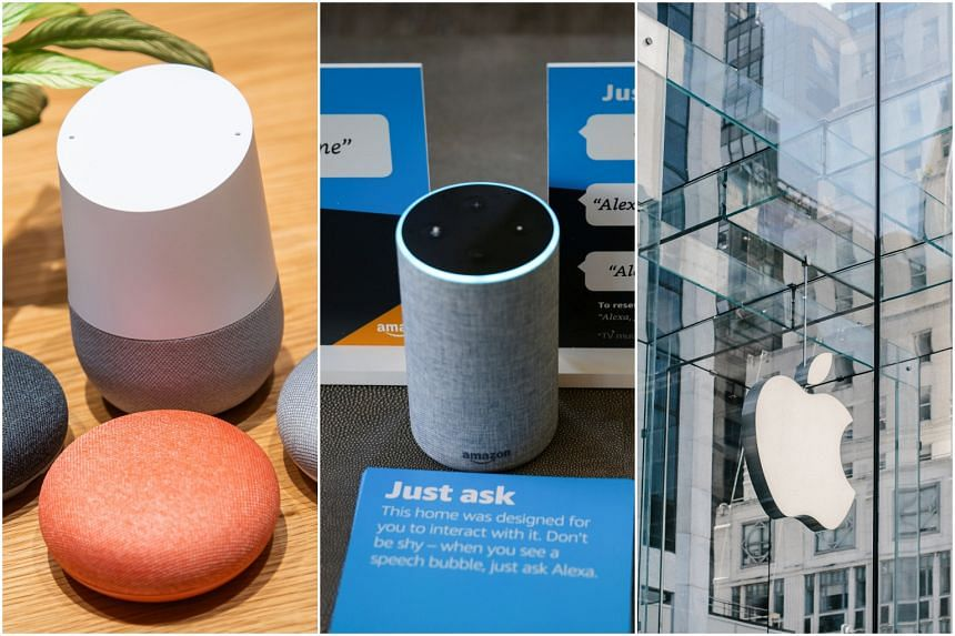 Researchers in Japan and at the University of Michigan said  they had found a way to take over Google Home, Amazon's Alexa or Apple's Siri devices remotely by shining laser pointers, and even flashlights, at the devices' microphones.