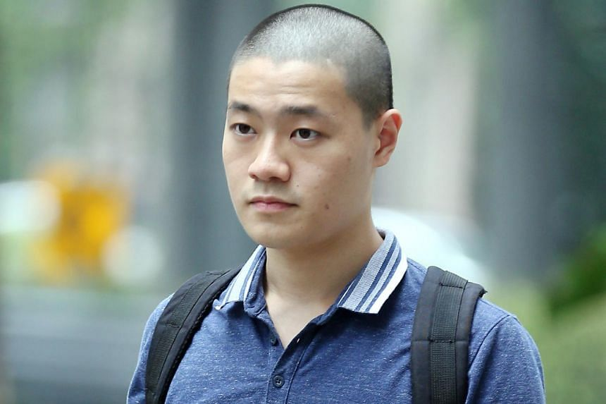Jonathan Lee Han Wen was sentenced to nine weeks' jail after pleading guilty to four charges under the Enlistment Act.