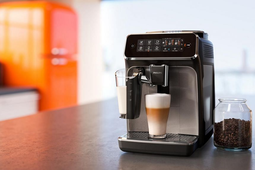 The Philips 3200 Series LatteGo is able to grind coffee beans into a cup of coffee in a matter of minutes with a simple push of a button.
