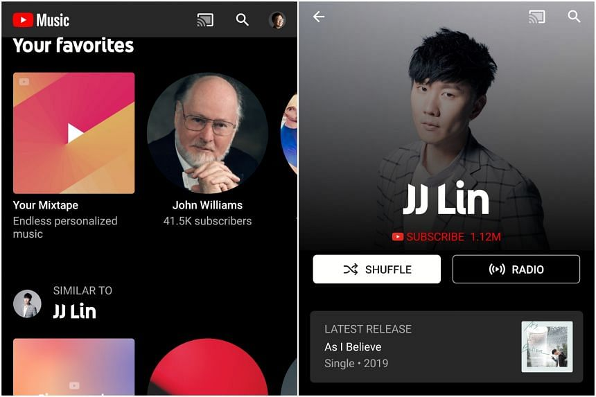 The YouTube Music streaming platform, which debuted last year elsewhere in the world, has an ad-supported free tier, as well as a paid version, YouTube Music Premium, from $9.98 monthly.