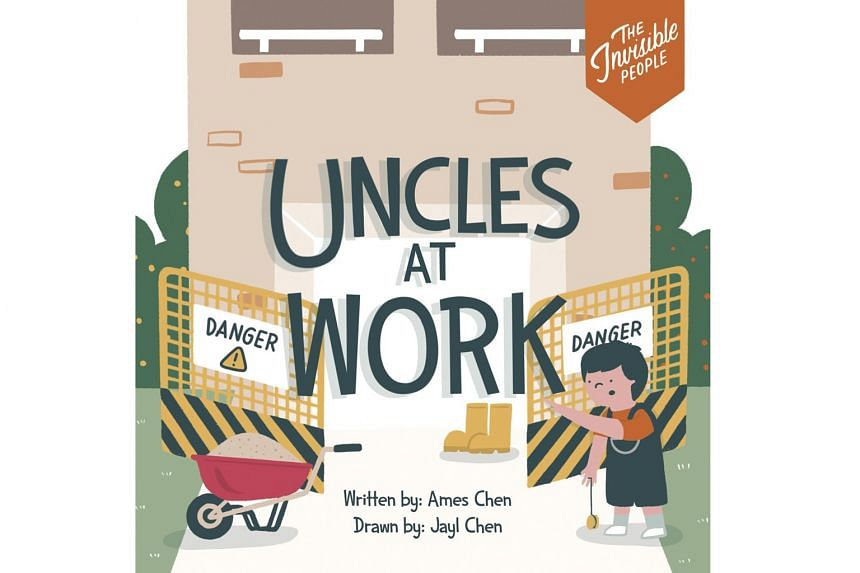 CHILDREN'S: THE INVISIBLE PEOPLE: UNCLES AT WORK AUNTY GOES HOME THE BUS DRIVER.