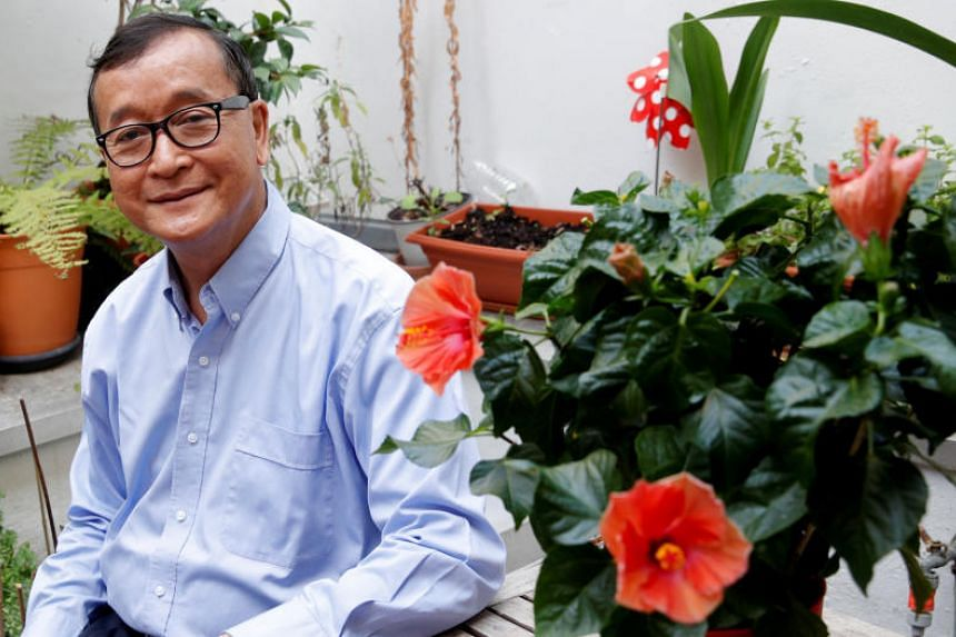 Sam Rainsy has promised a dramatic return on Nov 9, Cambodia's Independence Day.