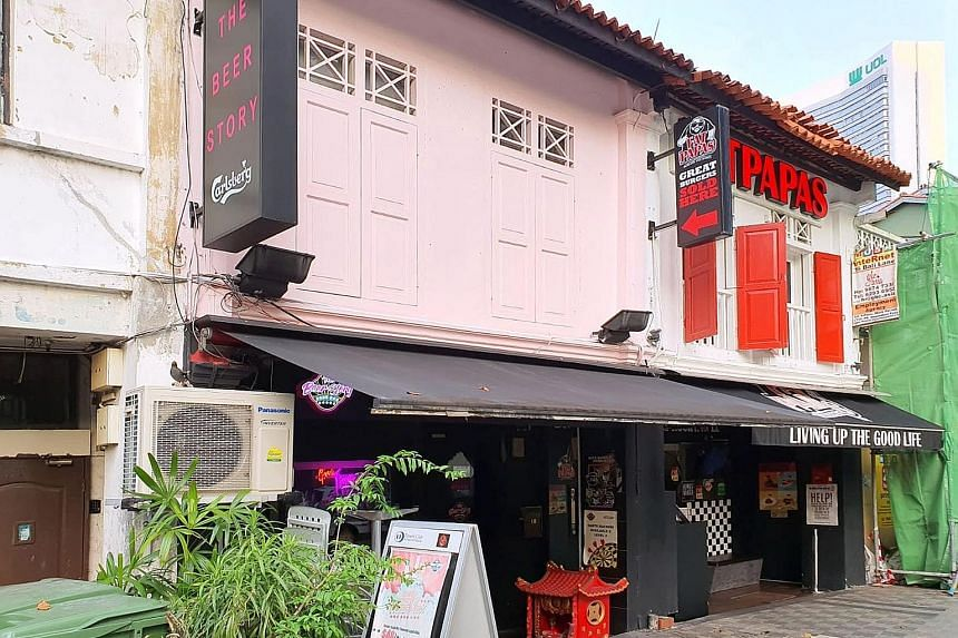 The 999-year leasehold commercial shophouse in Kampong Glam is located at 18 Bali Lane and has a guide price of $6.9 million.