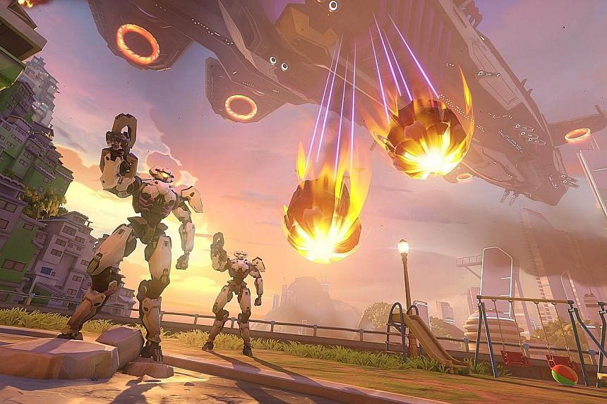 Release dates for Overwatch 2 (far left) and Diablo IV (left) have yet to be announced.