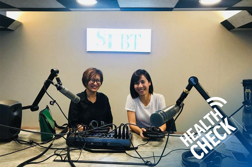 ST correspondent Joyce Teo (left) hosts Dr Low Ting Ting (right), a consultant at the Department of Cardiology at the National University Heart Centre, Singapore in this episode of Health Check.