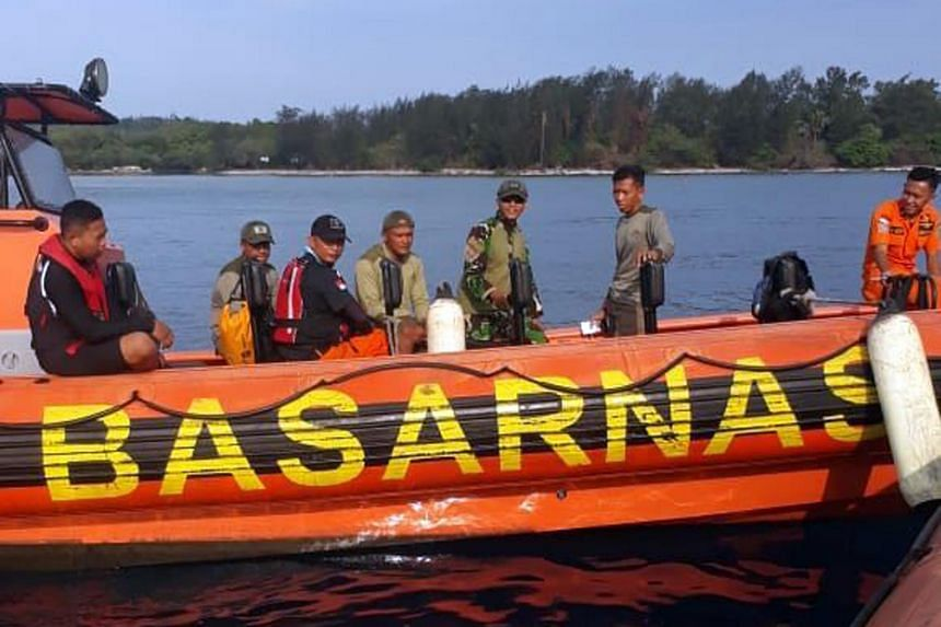 Indonesia's search and rescue agency (Basarnas) has been conducting search operations since a diving mate of the missing trio alerted the authorities to the incident on Sunday afternoon.