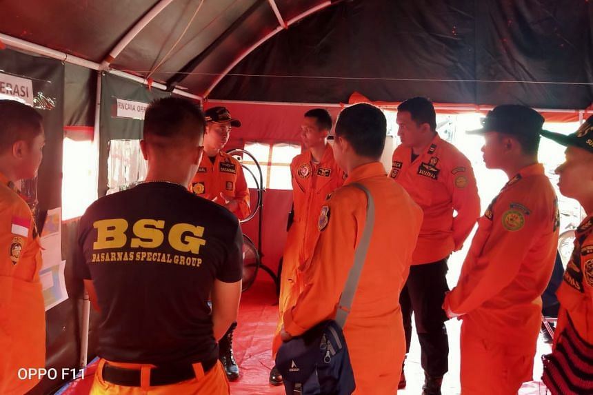 Indonesia's search and rescue agency (Basarnas) has been conducting search operations.