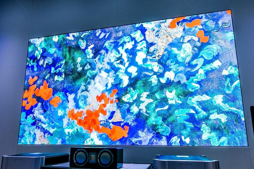 Samsung The Wall Luxury TV.