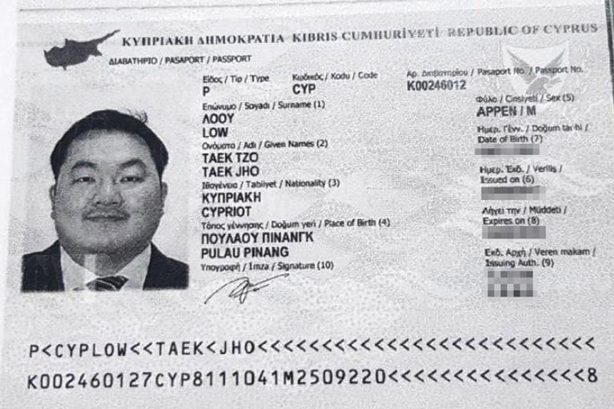 According to a report in the daily Politis, fugitive Malaysian financier Low Taek Jho, more popularly known as Jho Low, got a passport issued by the island state back in 2015.